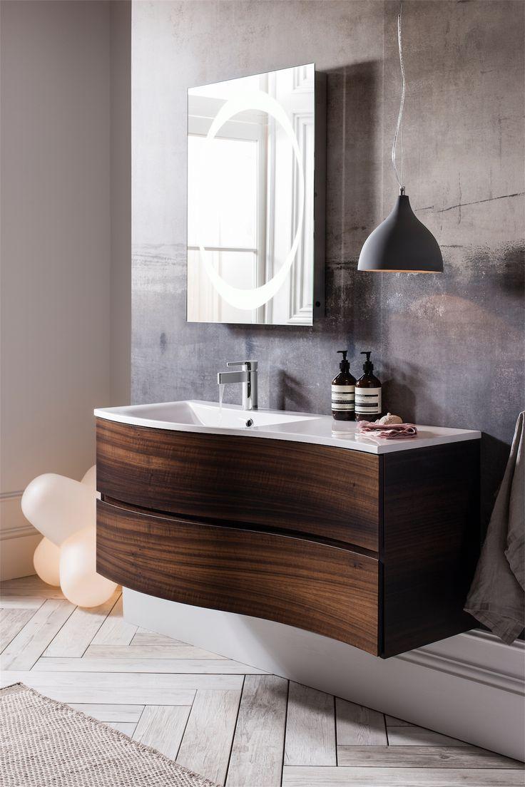 bauhaus svelte furniture 1200 american walnut shivers bathrooms