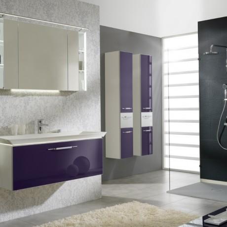 Pelipal bathroom furniture aubergine shivers bathrooms showers suites baths northern ireland for Aubergine bathroom accessories