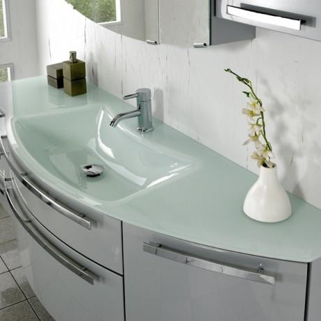Glass Vanity Units Bathroom My Web Value - Glass top bathroom vanity units