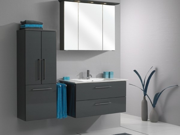 Pelipal Bathroom Furniture Talea 1050mm Stone Grey High