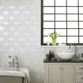 Laura Ashley Highgate white wall tile