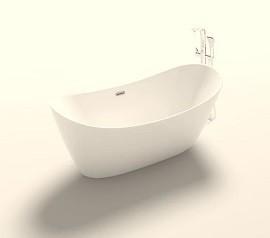 Dee Free standing bath Right
