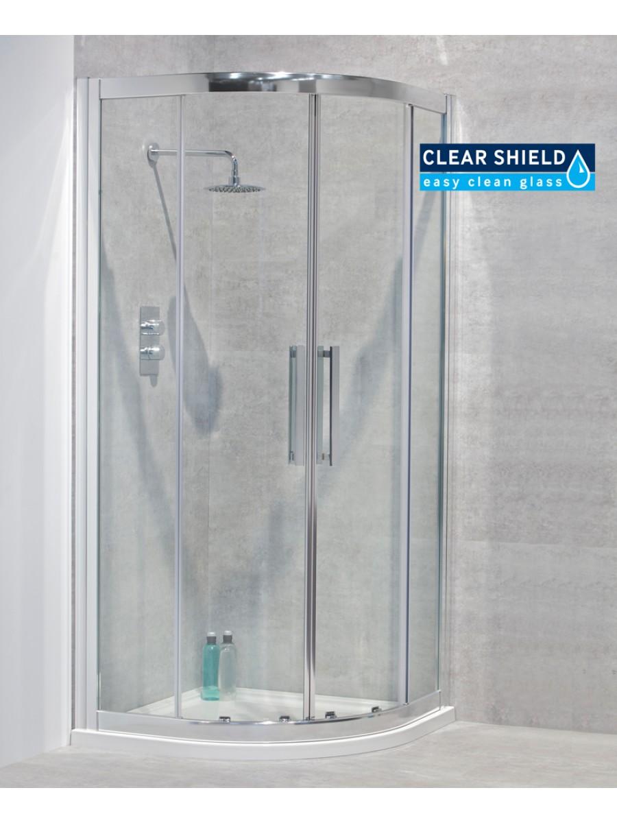 Sonas Aktive 8mm 900 Quadrant Shower Door Shivers