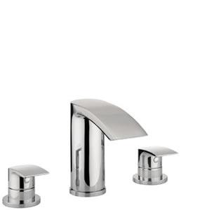 Adora Flow Bath 3 Hole Set   Shivers Bathrooms, Showers ...
